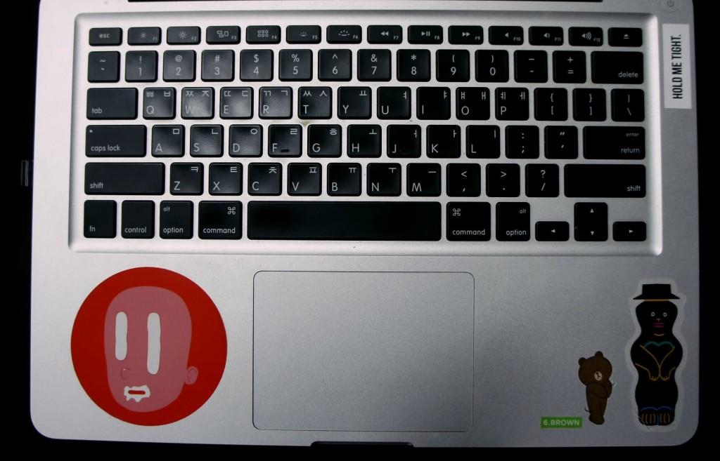 박신영의 노트북 안쪽