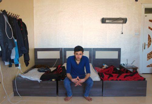 시리아 난민 아흐마드 쉬이크 아메드