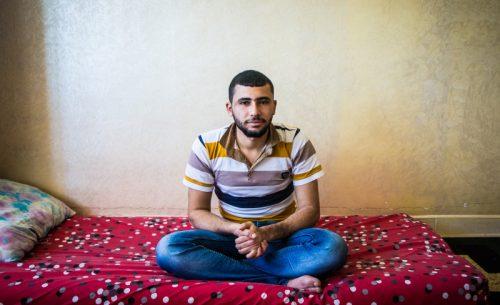 시리아 난민 압둘 라흐만 쉬이크 아메드