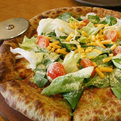 르구떼 시금치르꼴라 피자