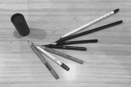 김어진 연필