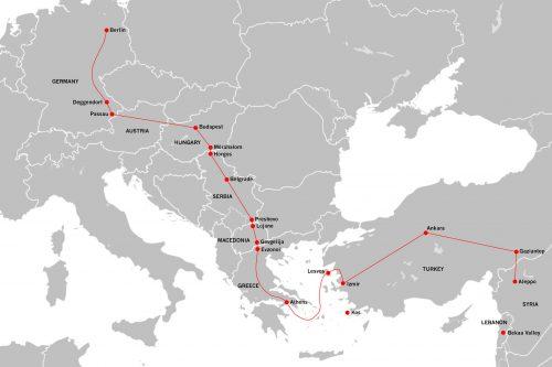 유럽, 그 중에서도 난민을 적극적으로 받고 있는 독일까지 가기 위한 여정. 4500km를 가야한다 ⓒespenrasmussen.com